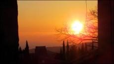 Vaucluse - Gorde - Coucher du soleil