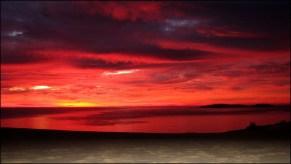 Rainbow beach - Lever su soleil