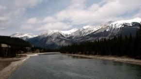 Parc national de Jasper - Athabasca River