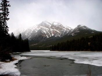 Parc national de Jasper - Palisade Trail, look out