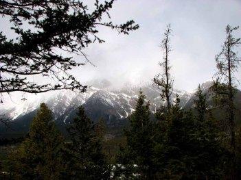 Parc national de Jasper - Pyramid trail, look out