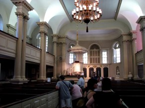 Massachusetts - Boston - Sur le chemin du Freedom Trail, king's chapel