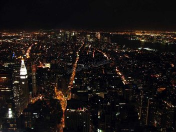 New-York - Depuis l'Empire State Building