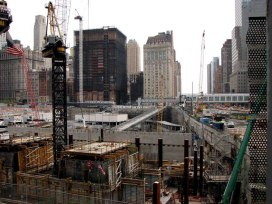 New-York - Manhattan - Financial District - Ground 0