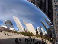 Ohio - Chicago - Millennium park - Cloud Gate