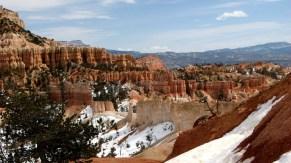 Utah - Parc national Bryce - Fairyland loop, mur de Chine