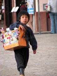 Chiapas - San Cristobal de las Casas - Jeune vendeur