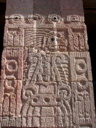 Mexico - Téotihuacan, reliefs