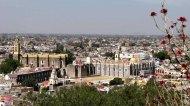Puebla - Cholula, vue sur le monastère San Gabriel