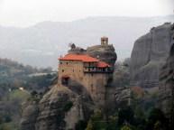 Les monastères des Météores - Monastère Agios Nikolaos (Saint Nicolas)