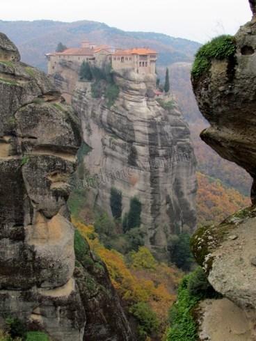 Les monastères des Météores - Monastère Varlaam