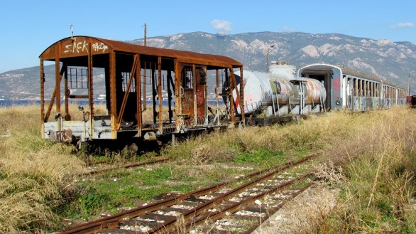 Sur la route - Train