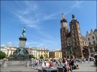 Cracovie - Main market square 'basilique Marlacka'