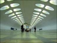 Moscou - Métro - Station Nakhimovsky Prospekt
