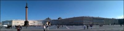 Saint-Pétersbourg - Bâtiment de l'Etat Majeur et la Colonne d'Alexandre