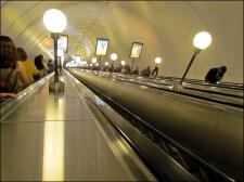 Saint-Pétersbourg - Métro, profondeur des stations