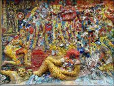 Saint-Pétersbourg - Secret courtyards, mosaic