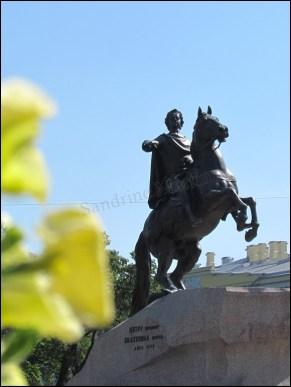 Saint-Pétersbourg - Statue 'Pierre Ier le Grand', fondateur de la ville