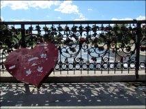 Yekaterinbourg - Rivière 'Iset', le cadena de l'amour