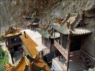 Le monastère suspendu, intérieur