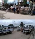 Katmandou - Au hasard des rues, Rickshaw à pédales et à moteur