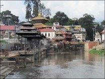 Katmandou - Temple de Pashupatinath
