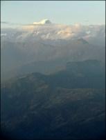 Nagarkot - Vue depuis View Tower, sur la chaîne de l'Himalaya