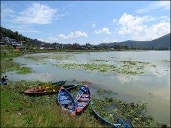 Pokhara - Lac 'Phewa'