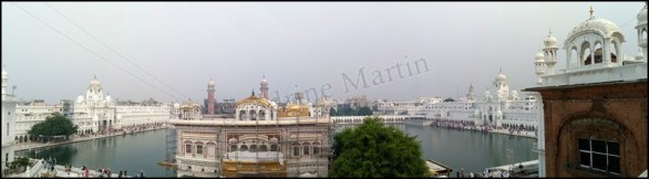 Amritsar - Temple d'Or, vue
