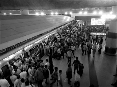 Delhi - Métro