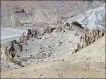 Himalaya - Vallée de Spiti - Dhankhar - Vue sur le village