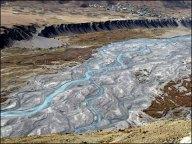 Himalaya - Vallée de Spiti - Sur la route entre Kaza et Langza