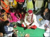 Khajuraho - Mariage, les mariés