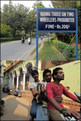 Varanasi - Au hasard des rues, même pas peur, on est 4