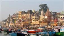 Varanasi - Rivière 'Gange', ghats