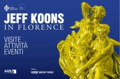 Jeff Koons in Florence, locandina visite guidate