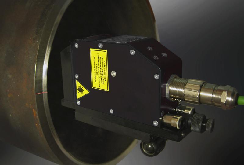 Smart sensor measuring pipe end bearing face characteristics
