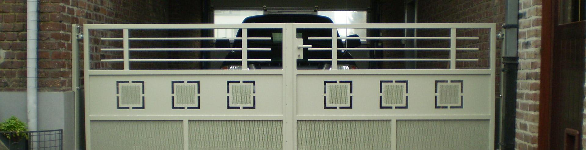 Poort Metaalconstructie Hansoul