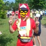 黒部名水マラソン2015結果、ジバニャンの仮装で自己新!