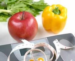 ダイエットイメージ体重計