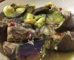 鯖缶とナスのエスニックカレー煮イメージ