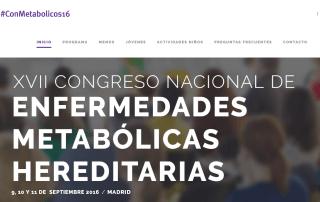 Congreso Nacional de Enfermedades Metabólicas Hereditarias