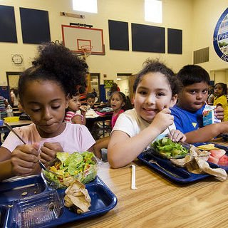 Children eating more healthy