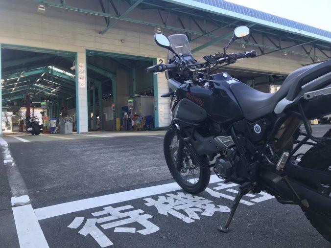 練馬陸運局バイク専用レーン