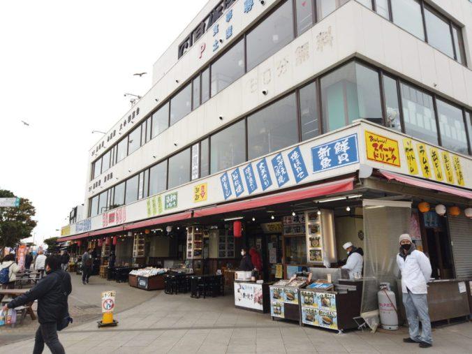江ノ島で海鮮丼を食べよう
