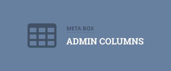 show custom fields in admin columns