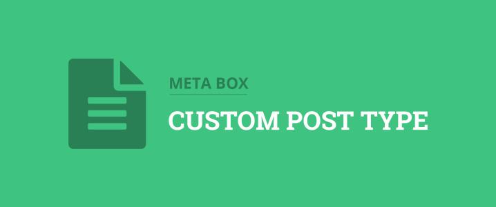 create custom post types in wordpress