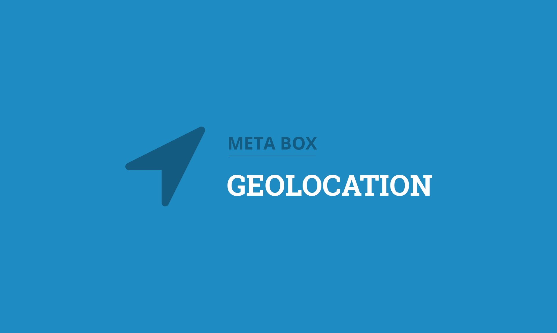 Meta Box Geolocation