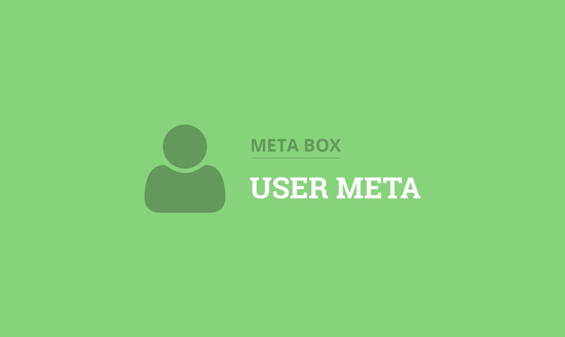 MB User Meta