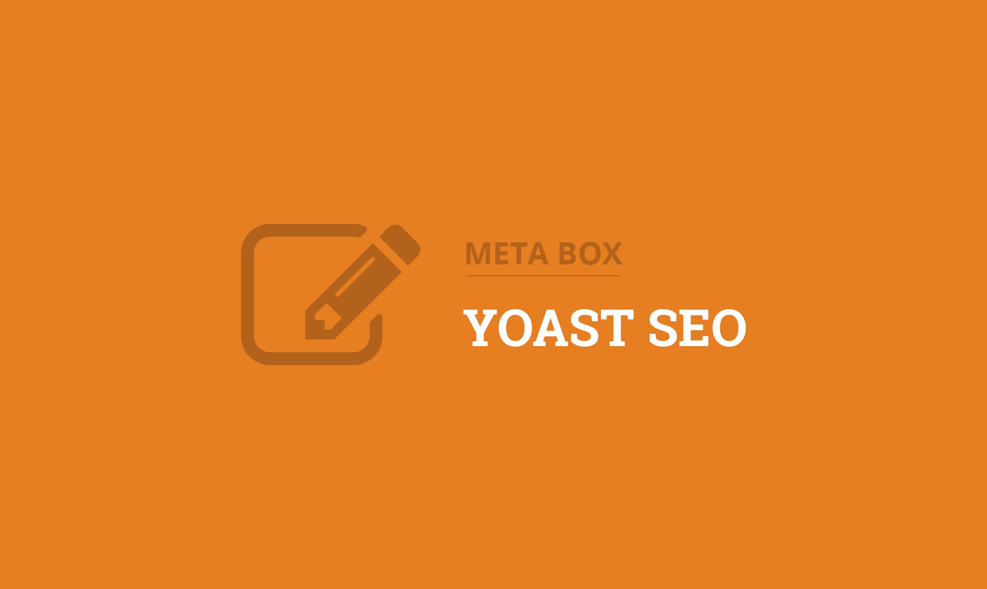 Meta Box for Yoast SEO